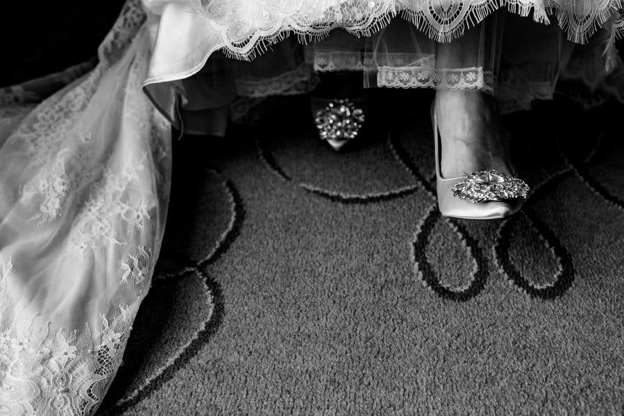 Preparativos de novia en el hotel westin