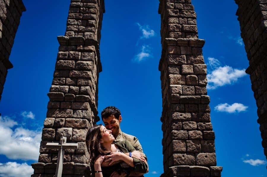 Sesión de pareja en Segovia