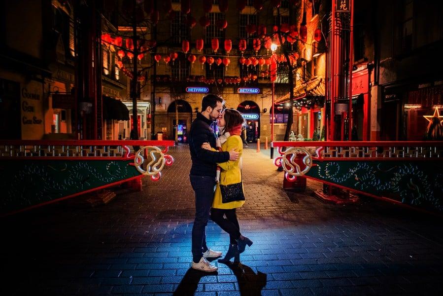 Vicky y Juanjo de Preboda en Londres
